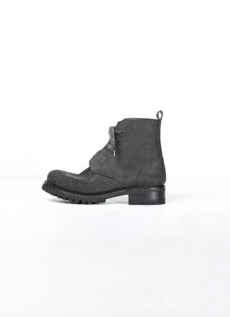 A Diciannoveventitre A1923 men boot thick rubber vibram sole stiefel schuh DOVER vachetta reverse leather black hide m 2