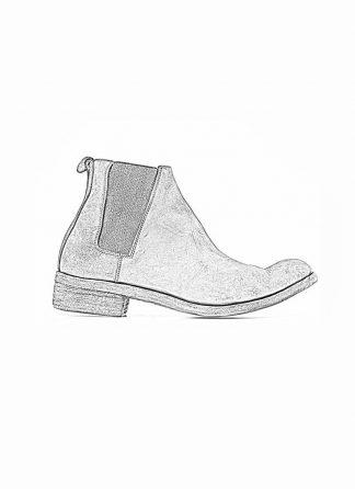 A Diciannoveventitre A1923 men chelsea boot 042 shoe black horse culatta rev leather hide m 1
