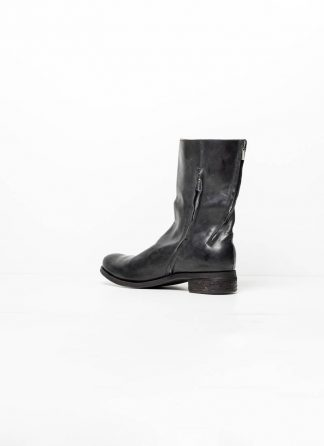 A Diciannoveventitre A1923 men double zip boot stiefel schuh ST3 soft horse leather black hide m 2