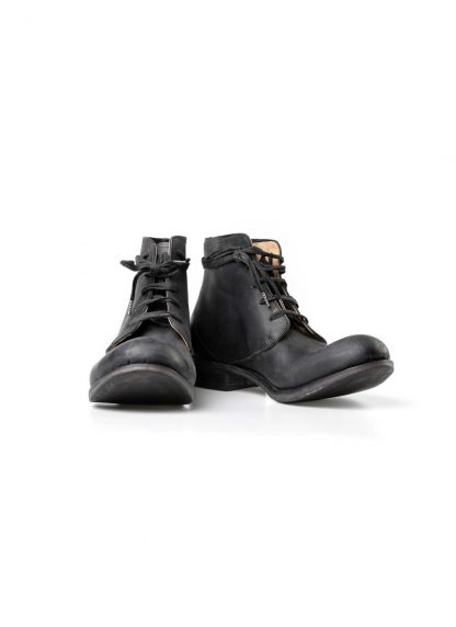 A Diciannoveventitre A1923 men lace up ankle boot stiefel schuh goodyear A12 horse cordovan leather black hide m 2