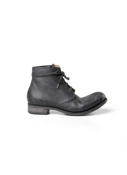 A Diciannoveventitre A1923 men lace up ankle boot stiefel schuh goodyear A12 horse cordovan leather black hide m 3