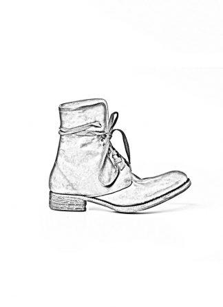 A Diciannoveventitre A1923 men lace up boot stiefel A13 horse cordovan leather black hide m 1