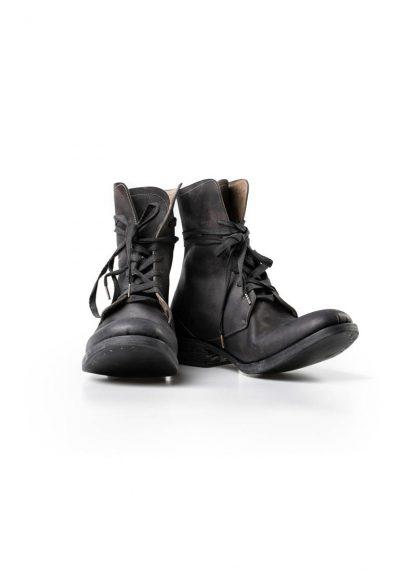 A Diciannoveventitre A1923 men lace up boot stiefel A13 horse cordovan leather black hide m 3