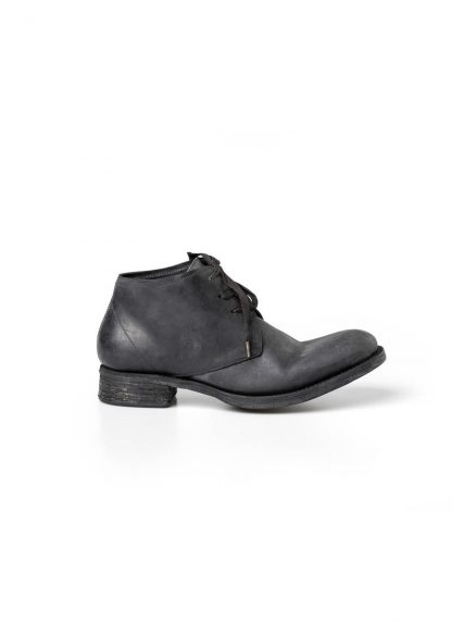 A Diciannoveventitre A1923 men lace up short boot stiefel goodyear A18 horse cordovan leather black hide m 2