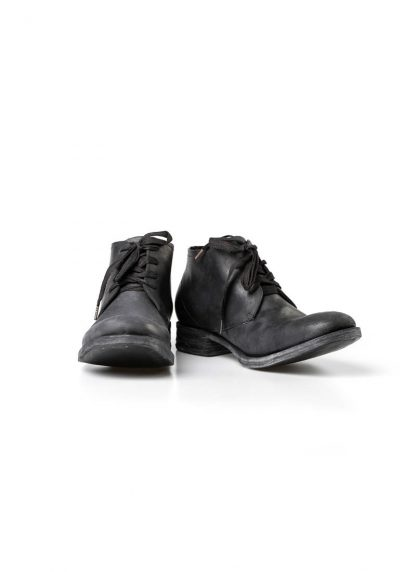A Diciannoveventitre A1923 men lace up short boot stiefel goodyear A18 horse cordovan leather black hide m 3