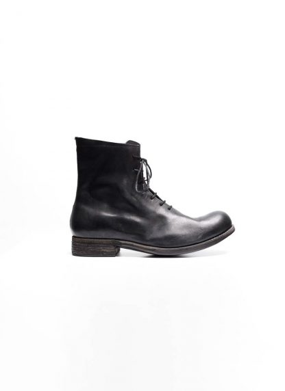 A Diciannoveventitre A1923 men one piece lace up boot stiefel schuh 07 horse leather black hide m 2