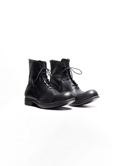 A Diciannoveventitre A1923 men one piece lace up boot stiefel schuh 07 horse leather black hide m 4