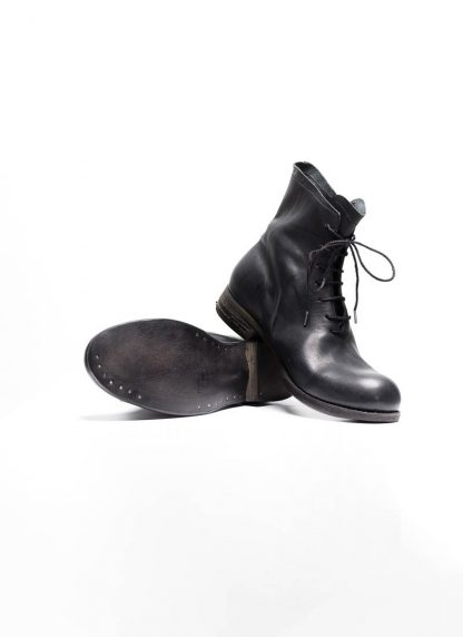 A Diciannoveventitre A1923 men one piece lace up boot stiefel schuh 07 horse leather black hide m 6