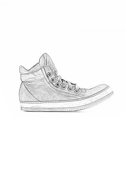 A Diciannoveventitre A1923 men sneaker 019 boot shoe black horse leather hide m 1
