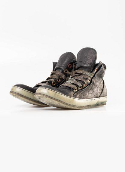 A Diciannoveventitre A1923 men sneaker 019 boot shoe black horse leather hide m 3