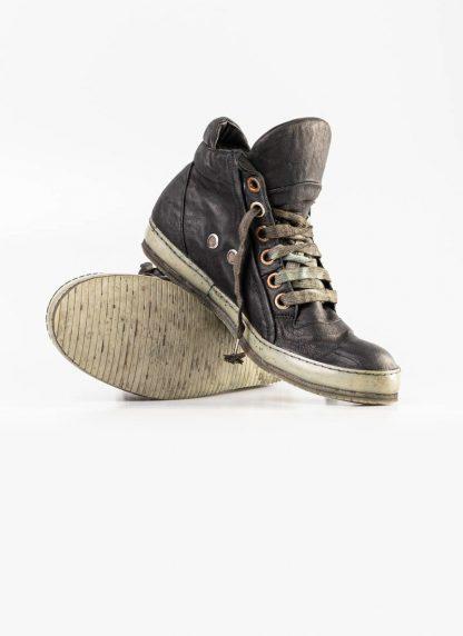 A Diciannoveventitre A1923 men sneaker 019 boot shoe black horse leather hide m 4