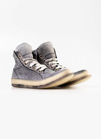 A Diciannoveventitre A1923 men sneaker 019 boot shoe ice grey horse leather hide m 4