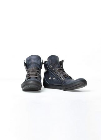 A Diciannoveventitre A1923 men sneaker schuh 019 horse leather dark blue handpainted with black rubber sole hide m 2