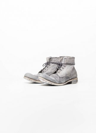 A Diciannoveventitre A1923 men work boot shoe schuh stiefel goodyear 06 horse leather ice grey white hide m 2