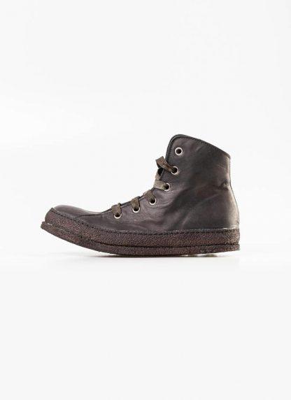 A Diciannoveventitre A1923 women sneaker MF01 boot shoe black calf leather black rubber sole hide m 2