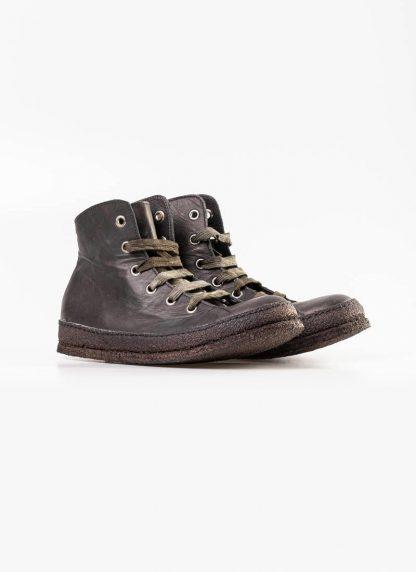 A Diciannoveventitre A1923 women sneaker MF01 boot shoe black calf leather black rubber sole hide m 3