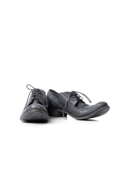 ADICIANNOVEVENTITRE A1923 AUGUSTA men 033N classic derby shoe herren schuh handmade goodyear kangaroo leather dark grey hide m 3