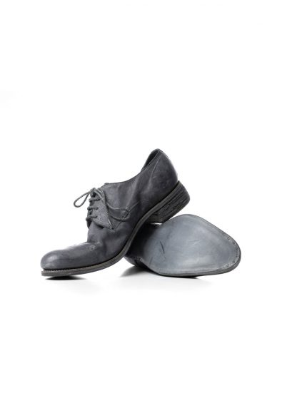 ADICIANNOVEVENTITRE A1923 AUGUSTA men 033N classic derby shoe herren schuh handmade goodyear kangaroo leather dark grey hide m 4