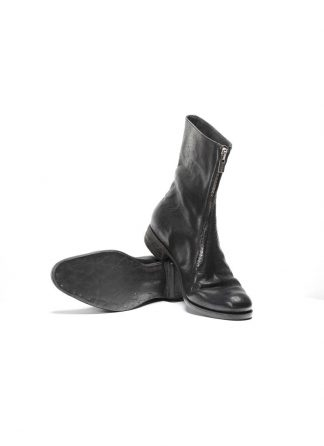 ADICIANNOVEVENTITRE A1923 men front zip boot stiefel schuh ST1 horse leather black hide m 2