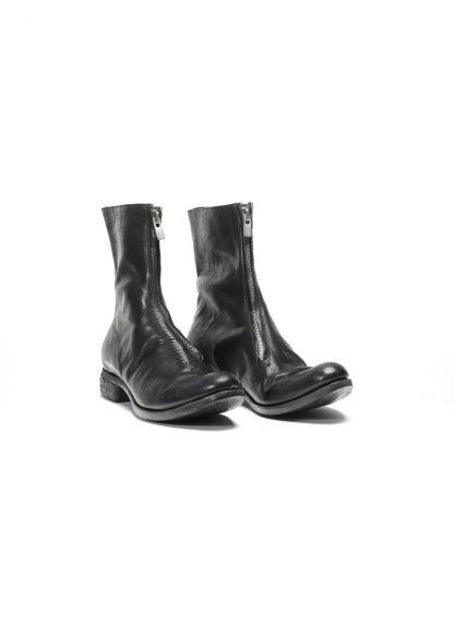 ADICIANNOVEVENTITRE A1923 men front zip boot stiefel schuh ST1 horse leather black hide m 4