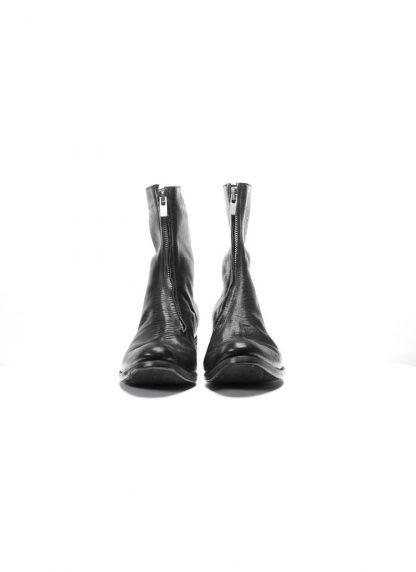 ADICIANNOVEVENTITRE A1923 men front zip boot stiefel schuh ST1 horse leather black hide m 5