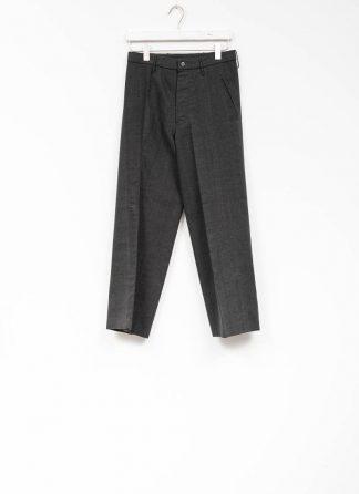 Andrea Cortella P2S1920 women pants with divergent joints dark grey cotton cashmere hide m 2
