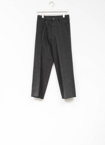 Andrea Cortella P2S1920 women pants with divergent joints dark grey cotton cashmere hide m 2