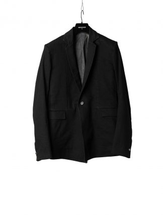 BORIS BIDJAN SABERI BBS Men Classic Blazer Jacket Herren Jacke SUIT2 exclusively limited Resin Dyed F1401M cotton pu black hide m 2