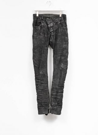 BORIS BIDJAN SABERI men pants hose P13TF F177C CO LY used black hide m 2