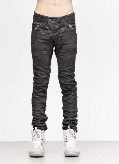 BORIS BIDJAN SABERI men pants hose P13TF F177C CO LY used black hide m 3