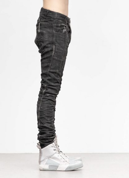 BORIS BIDJAN SABERI men pants hose P13TF F177C CO LY used black hide m 4