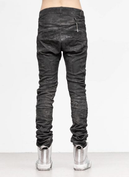 BORIS BIDJAN SABERI men pants hose P13TF F177C CO LY used black hide m 5