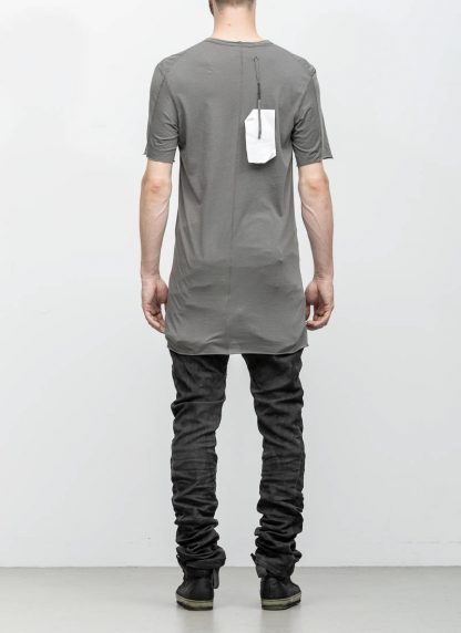 Boris Bidjan Saberi 11byBBS roots men tshirt TS1B dark grey cotton F1101 hide m 5