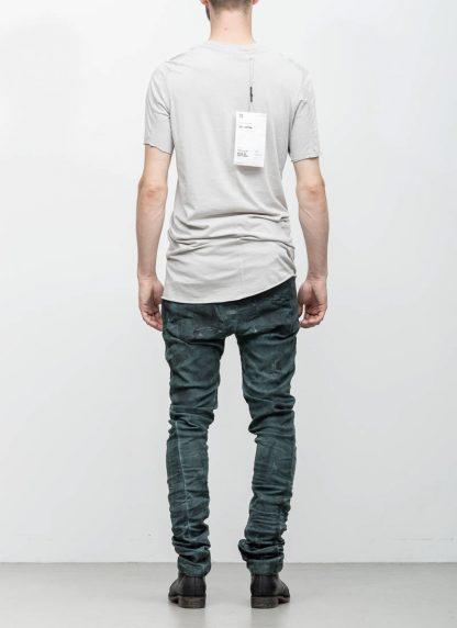 Boris Bidjan Saberi 11byBBS roots men tshirt TS1B light grey cotton F1101 hide m 5