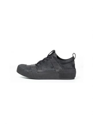 Boris Bidjan Saberi BBS men sneaker BAMBA1 horse leather black hide m 2