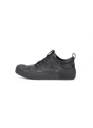 Boris Bidjan Saberi BBS sneaker BAMBA1 horse leather black hide m 2