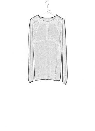 Boris Bidjan Saberi BBS sweater KN1 black super fine merino FW1718 hide m 1