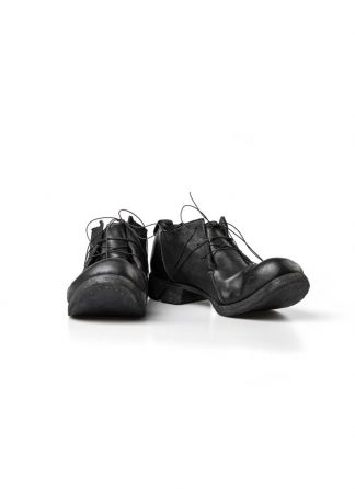 Boris Bidjan Saberi FW1819 men derby shoe stiefel schuh goodyear SHOE2 horse leather black hide m 2