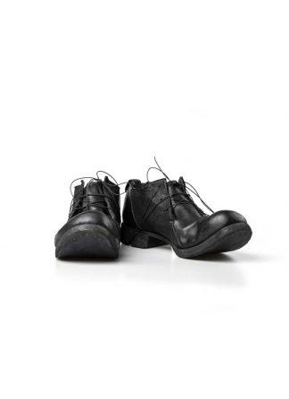 Boris Bidjan Saberi FW1819 men derby shoe stiefel schuh goodyear SHOE2 horse leather black hide m 2