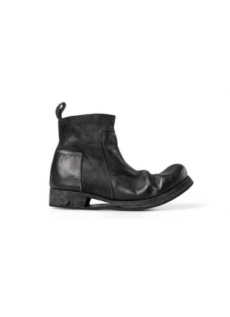 Boris Bidjan Saberi FW1819 men zip boot stiefel schuh goodyear BOOT2 horse leather black hide m 2
