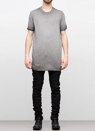 Boris Bidjan Saberi SS19 men tshirt tee TS1 RF cotton F035 dirty medium grey hide m 2