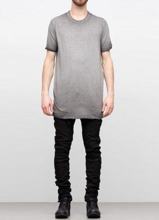 Boris Bidjan Saberi SS19 men tshirt tee TS1 RF cotton F035 dirty medium grey hide m 2