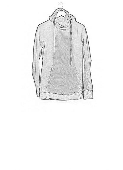 Boris Bidjan Saberi arcanism hoodie hoody sweater HOODY2 archive green cotton pes hide m 1