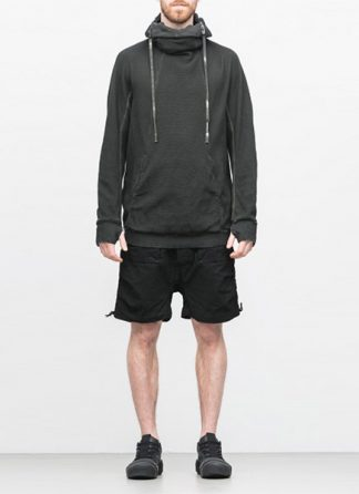 Boris Bidjan Saberi arcanism hoodie hoody sweater HOODY2 archive green cotton pes hide m 2