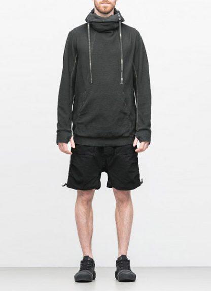Boris Bidjan Saberi arcanism hoodie hoody sweater HOODY2 archive green cotton pes hide m 2