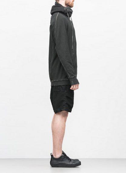 Boris Bidjan Saberi arcanism hoodie hoody sweater HOODY2 archive green cotton pes hide m 3