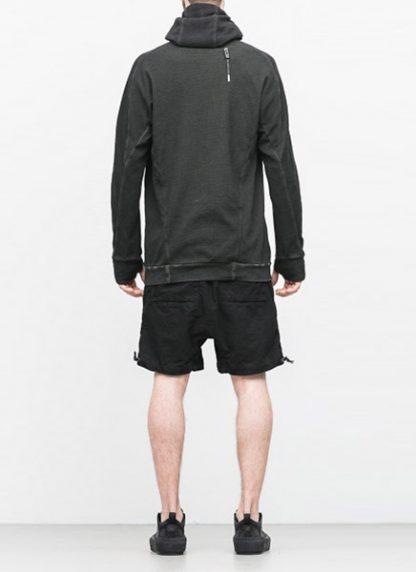 Boris Bidjan Saberi arcanism hoodie hoody sweater HOODY2 archive green cotton pes hide m 4