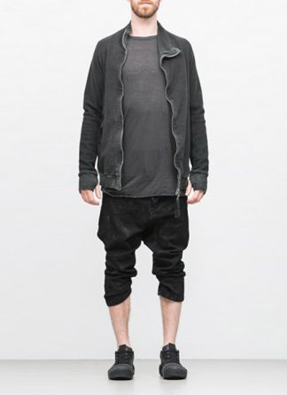 Boris Bidjan Saberi arcanism men zip sweater jacket ZIPPER1 archive green cotton pes hide m 2