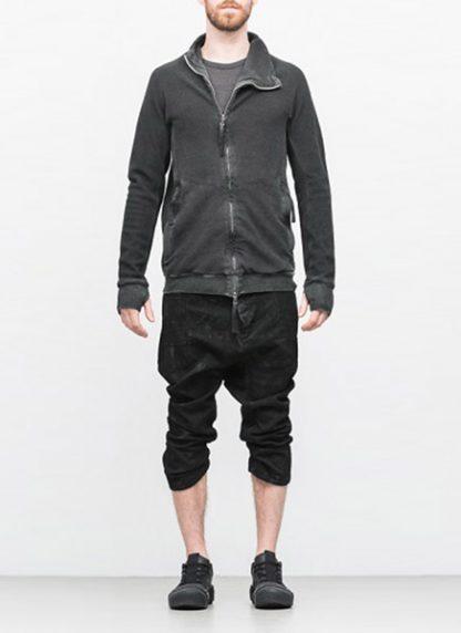 Boris Bidjan Saberi arcanism men zip sweater jacket ZIPPER1 archive green cotton pes hide m 3