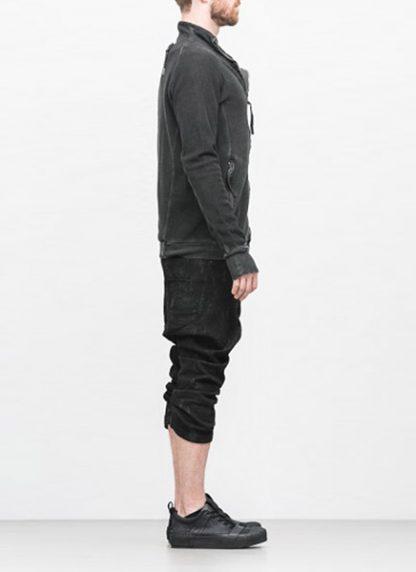 Boris Bidjan Saberi arcanism men zip sweater jacket ZIPPER1 archive green cotton pes hide m 4